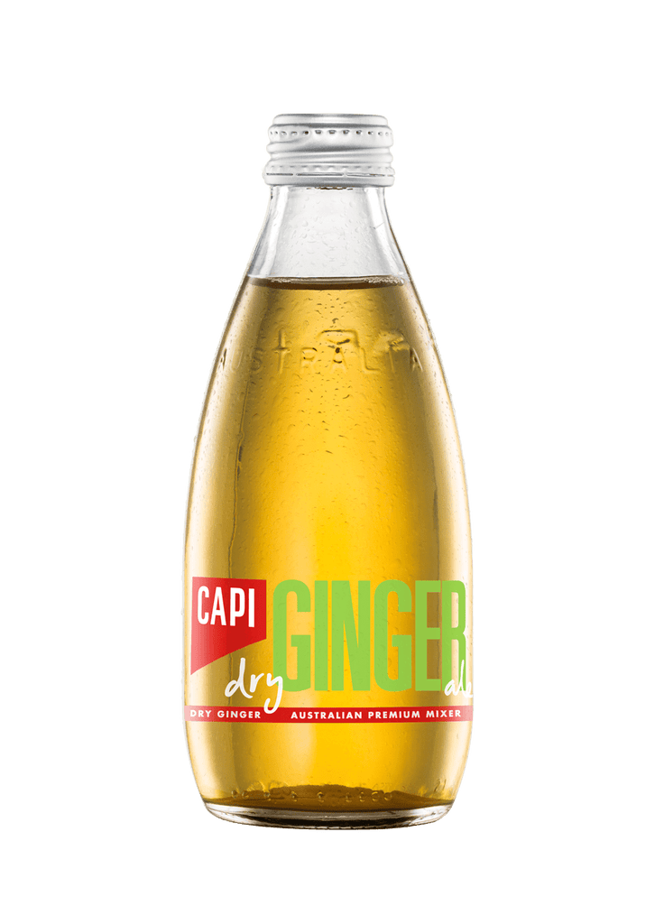 CAPI Dry Ginger Ale 24 x 250ml Bottle