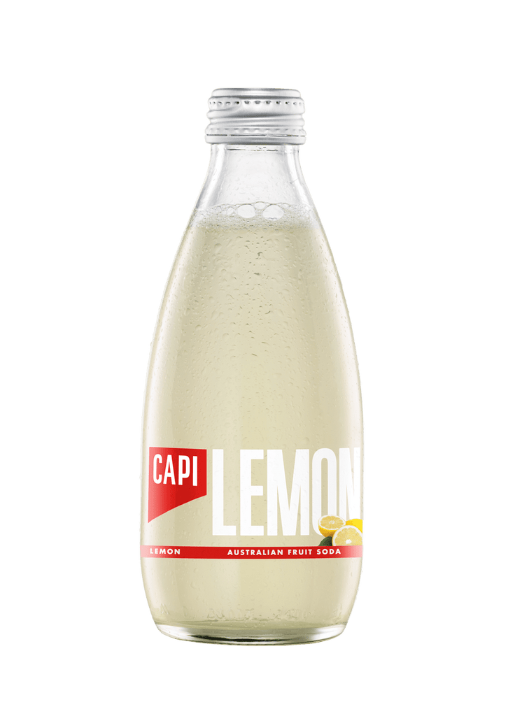 CAPI Lemon Fruit Soda