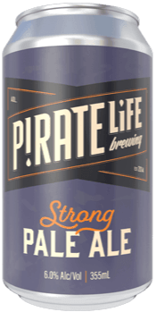 PIRATE LIFE STRONG PALE ALE 16 X 355ML CAN