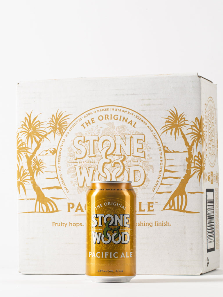 Stone & Wood Pacific Ale Cans 375ml x 16 Cans