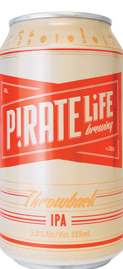Pirate Life Throwback IPA 16 x 355ml Can