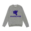 "FRANCHISE ""COOL GRAPE"" ULTRA PREMIUM CREW NECK SWEATSHIRT"