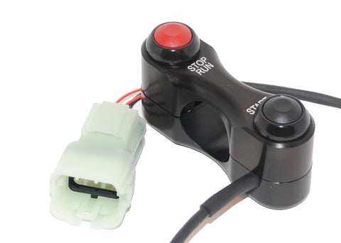 Kawasaki ZX6 (636) , race/track bike handlebar switch assembly Stop/Run and Start