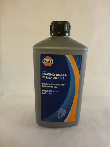 1Ltr Racing Brake Fluid DOT 5.1