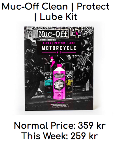 Muc-Off Clean Proctect & Lube Kit