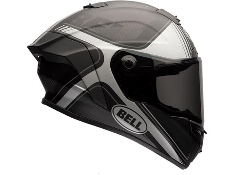 BELL Race Star Helmet Tracer Matte Black/Grey