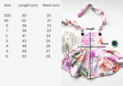 Flower Pinafore