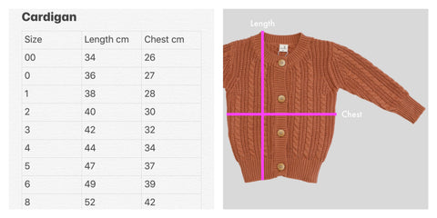 knit cardigan unisex toddler kids children