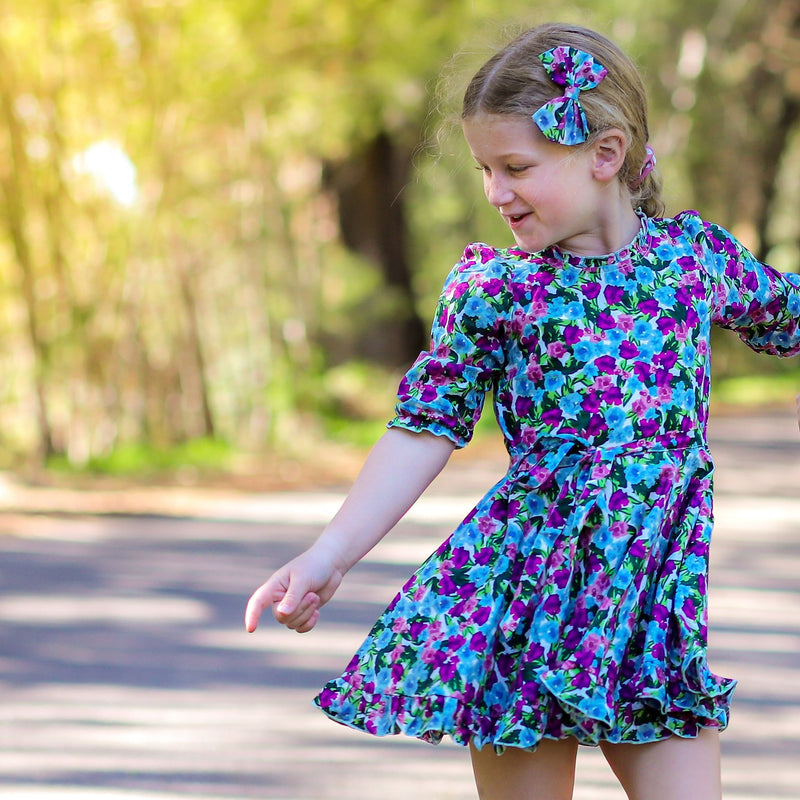 VIOLA FRILLY DRESS