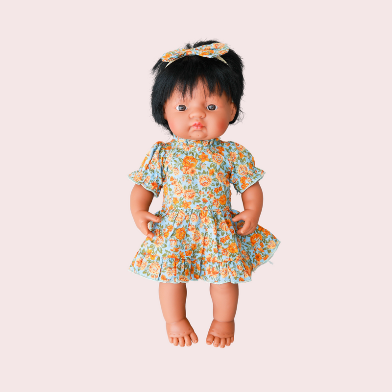 SHARLAYLA FRILL DRESS FOR DOLL