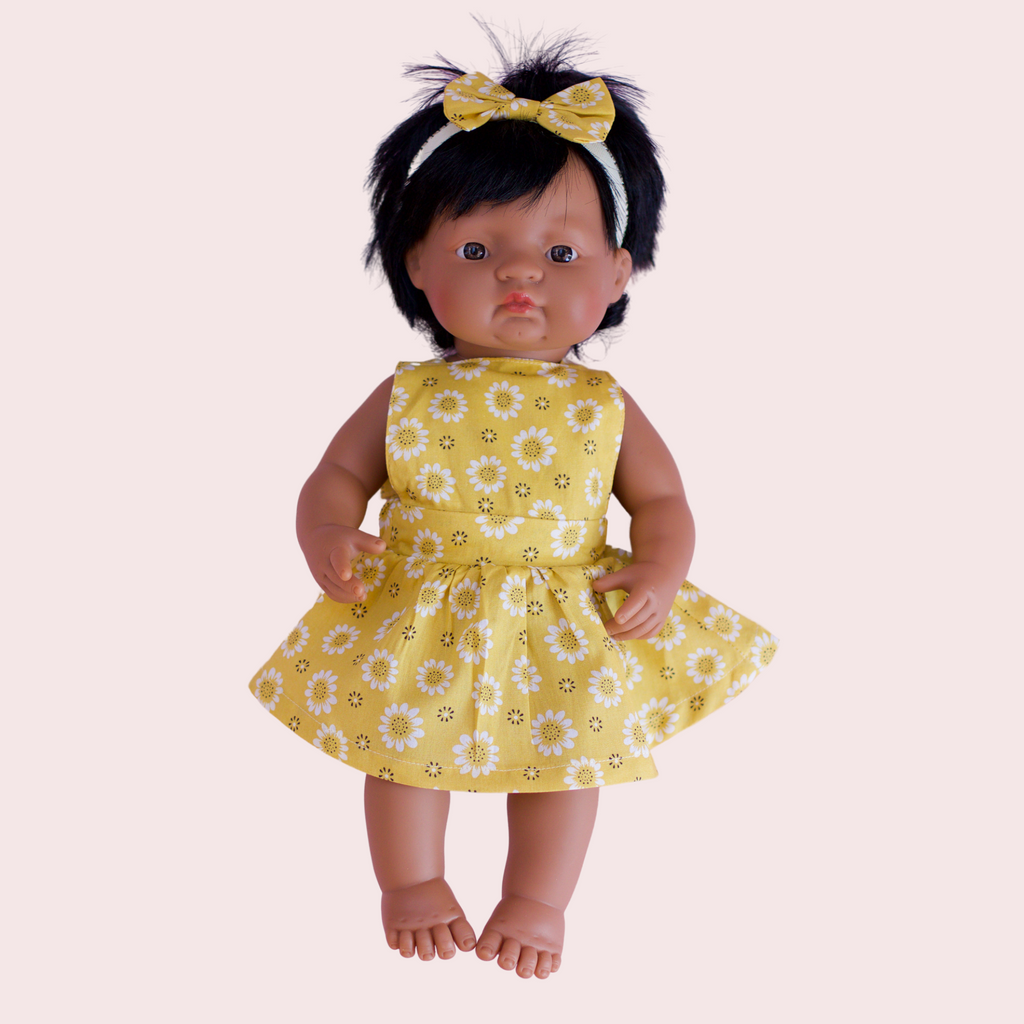 AUGUST DOLL PINNY DRESS