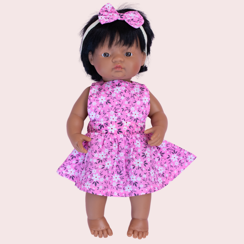 EMILIA DOLL PINNY DRESS