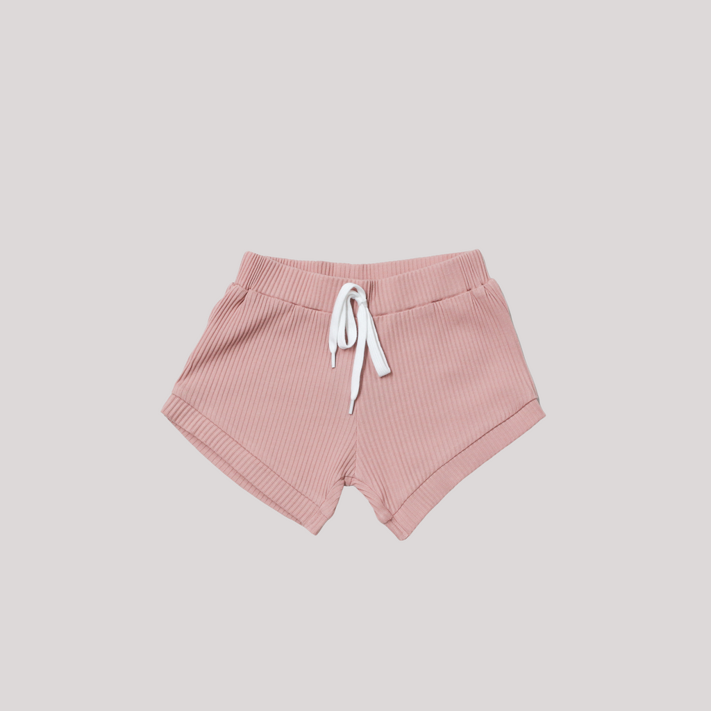 ROSE BLOOM RIBBED PANT