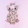 ALYSSA BUTTON ROMPER