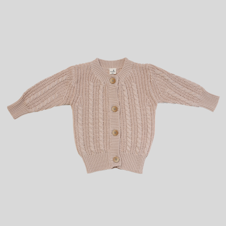 Unisex Knit Button Cardigan  for your baby toddler by Toots Kids