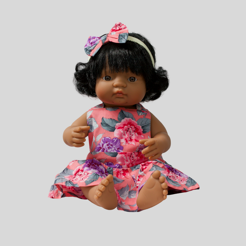 Miniland doll dress cute matching outfit