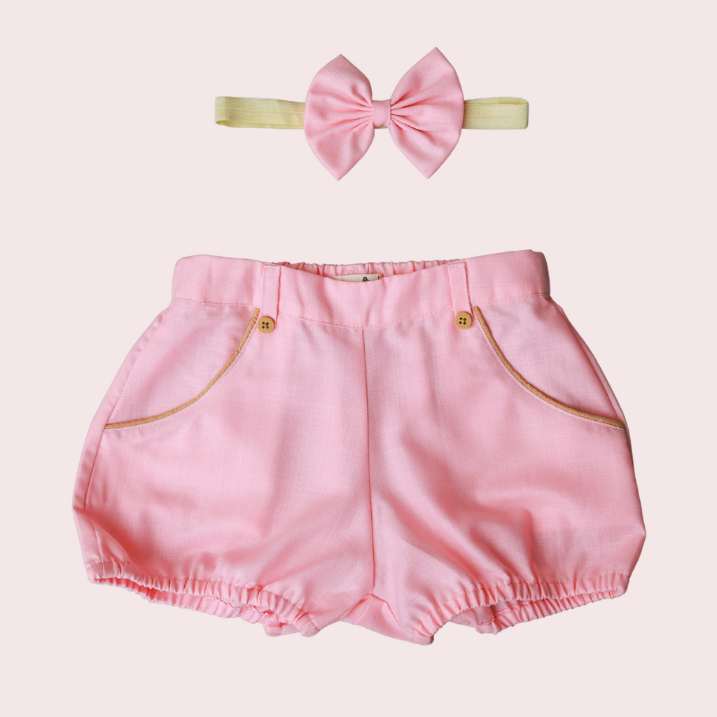 SOFT BERRY PINK SHORTS