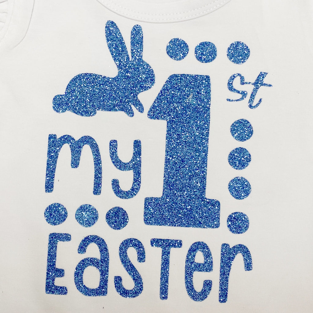 Blue 1st easter design only flutter is not included