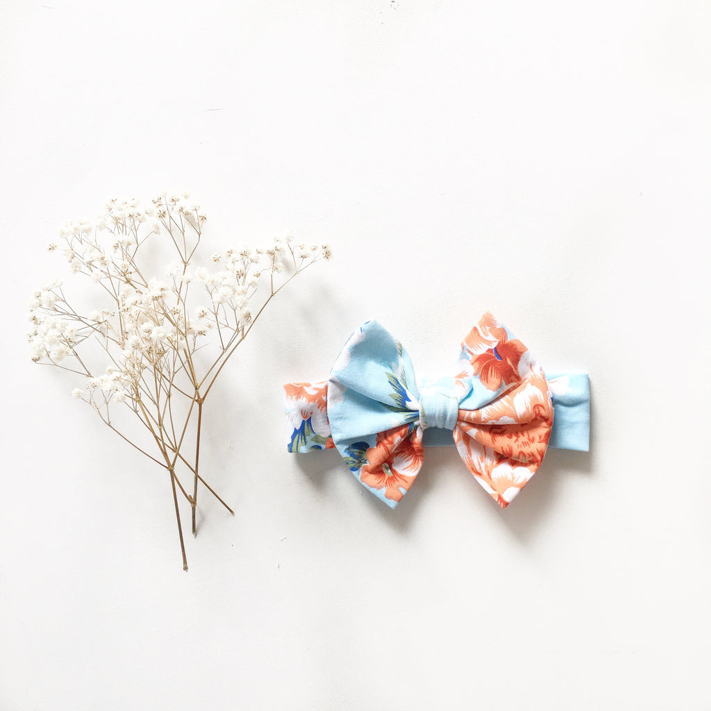 Zahli Knit bow headband - Toots Kids
