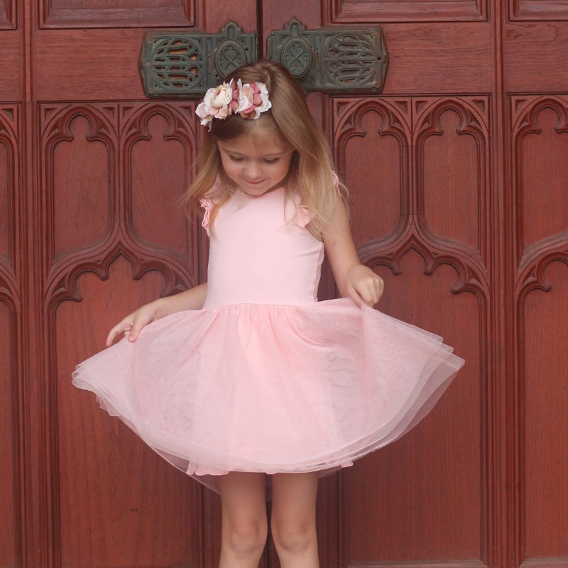 Lotus Tutu Flutter romper /dress - Toots Kids