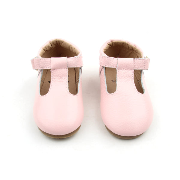 Pink T-bar shoes - Toots Kids