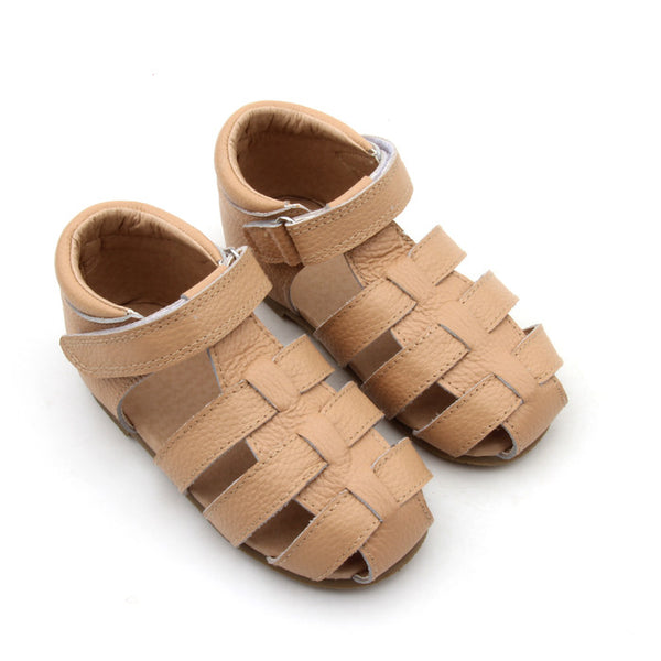 Beige Sandals - Toots Kids
