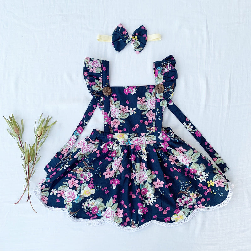 girls online boutique pinafore dress