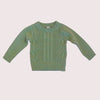 OLIVE KNIT JUMPER