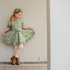 vintage frilly dress for toddler girls baby
