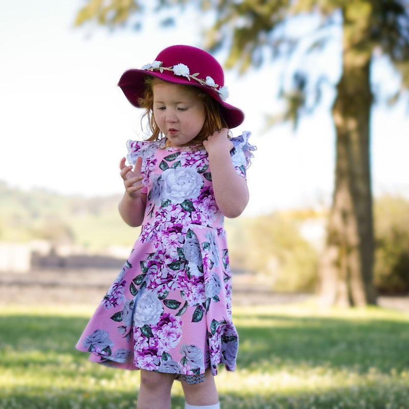SADIE TWIRLY GIRL DRESS