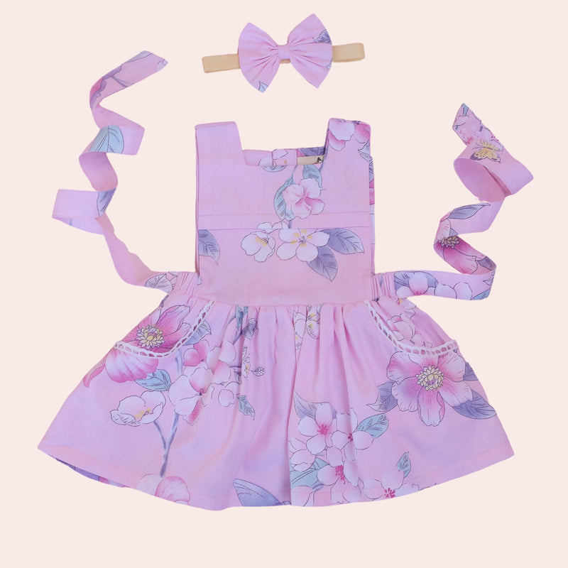 RANIA BIB DRESS