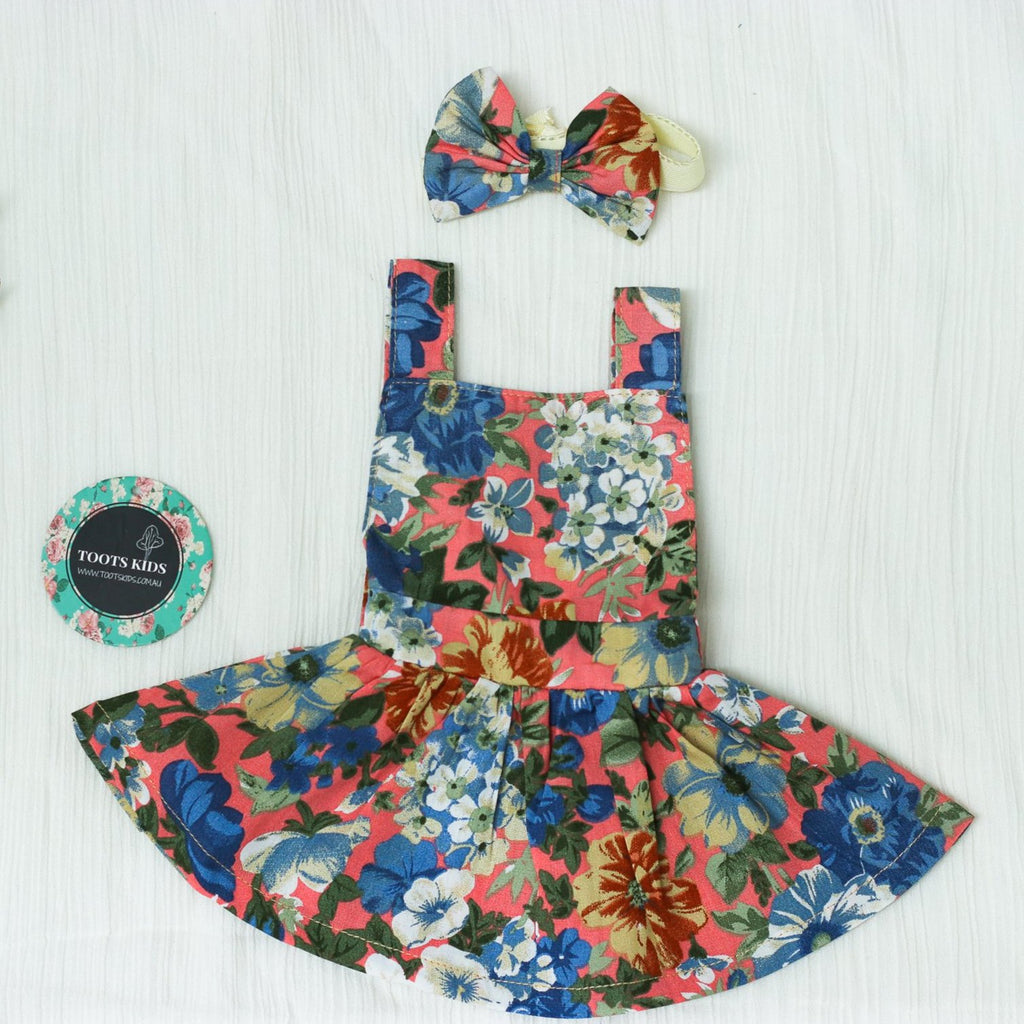 DOLL FLORAL CLOTHES
