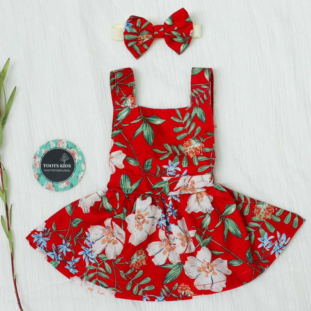 CHRISTMAST DOLL PINNY DRESS
