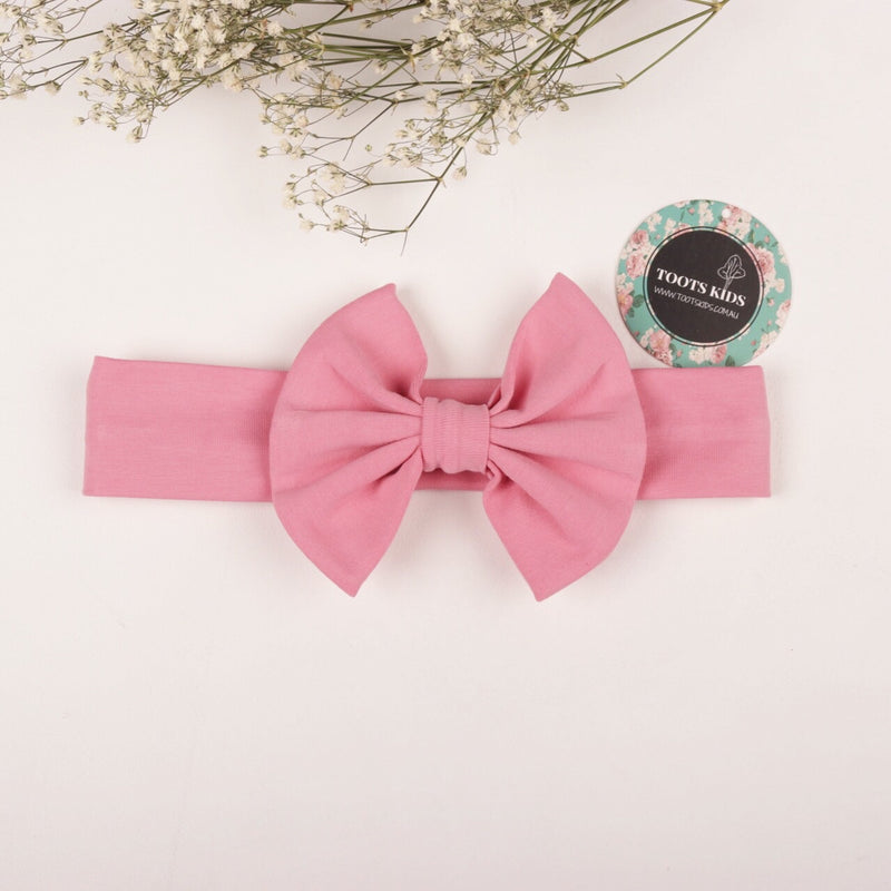 PINK FLOYD knit bow headband - Toots Kids
