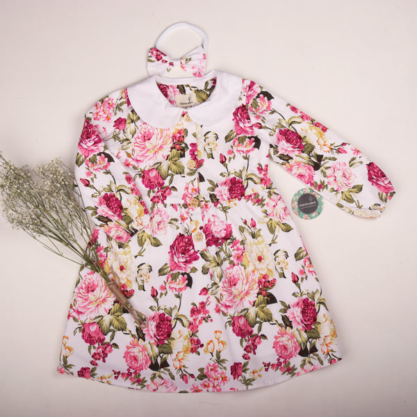 Arabella winter dress - Toots Kids