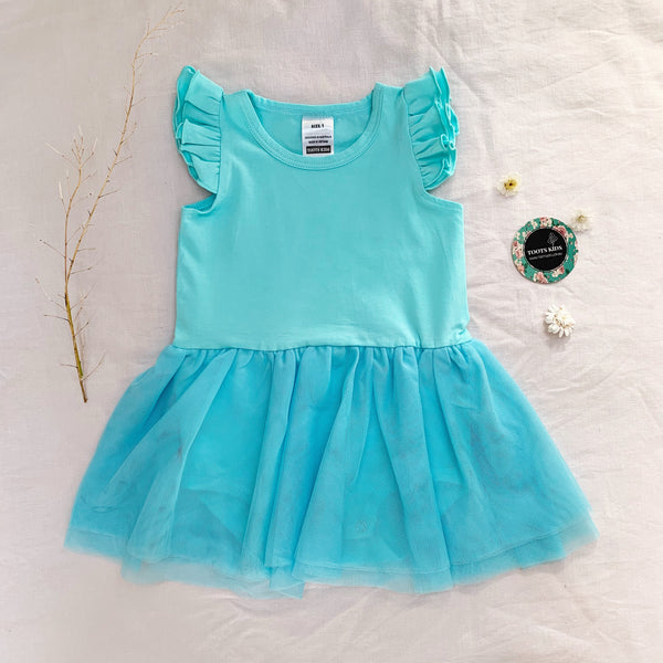 Sky Tutu Flutter romper /dress - Toots Kids