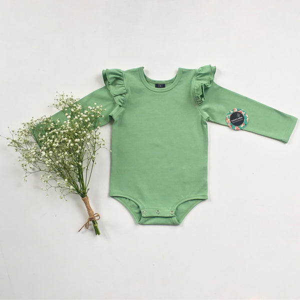 Clover  long sleeve flutter - Toots Kids