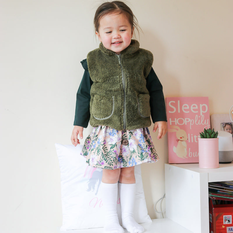 CROCODILE FUR VEST