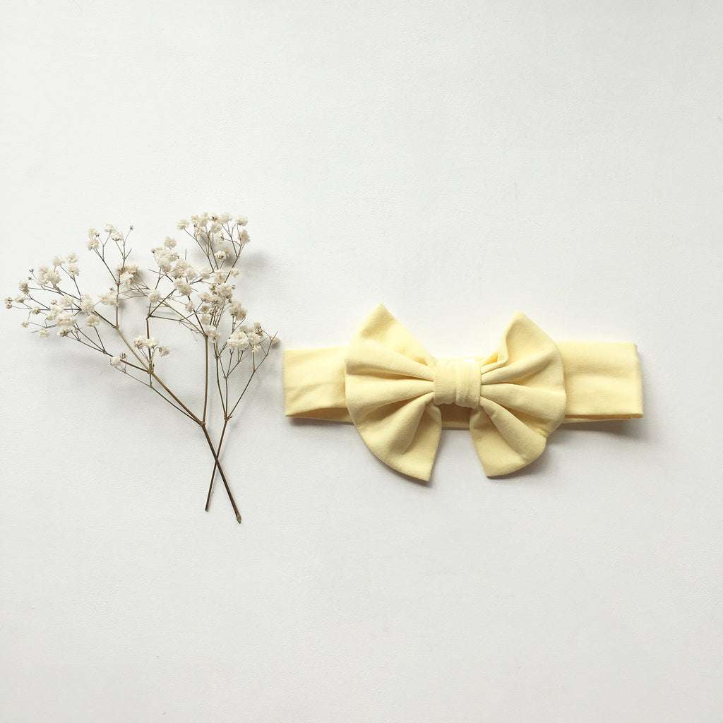 Mango Knit bow headband - Toots Kids