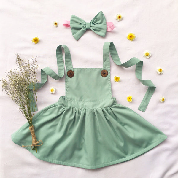 Iceberg Green Pinny - Toots Kids