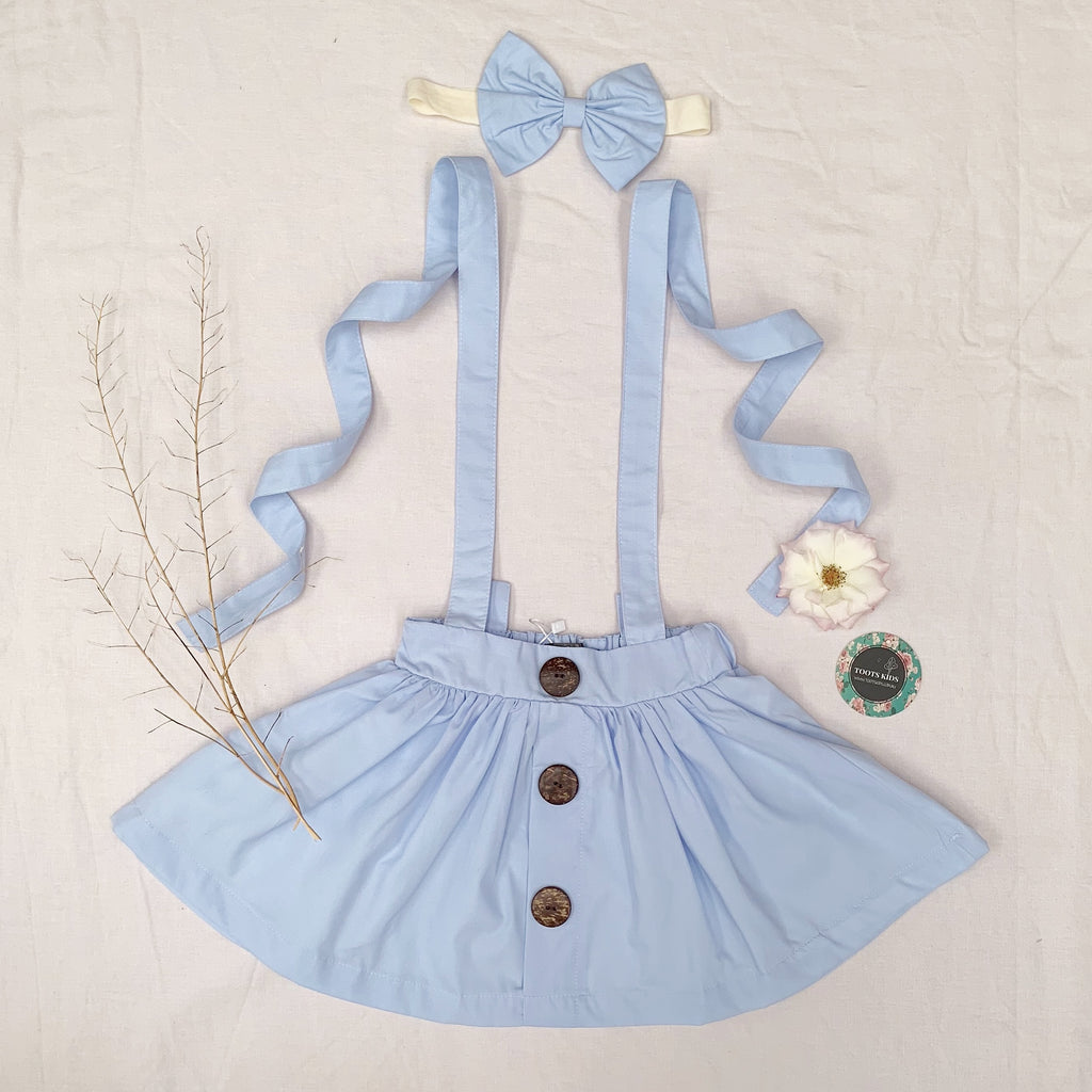 Skyway Suspender Skirt - Toots Kids