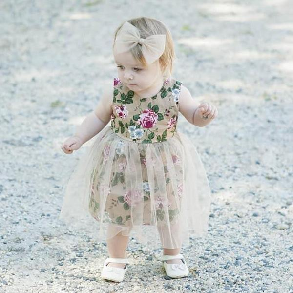 Divinity  tulle dress - Toots Kids