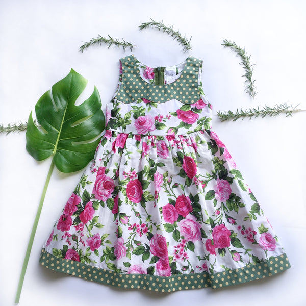 Ariana summer dress - Toots Kids