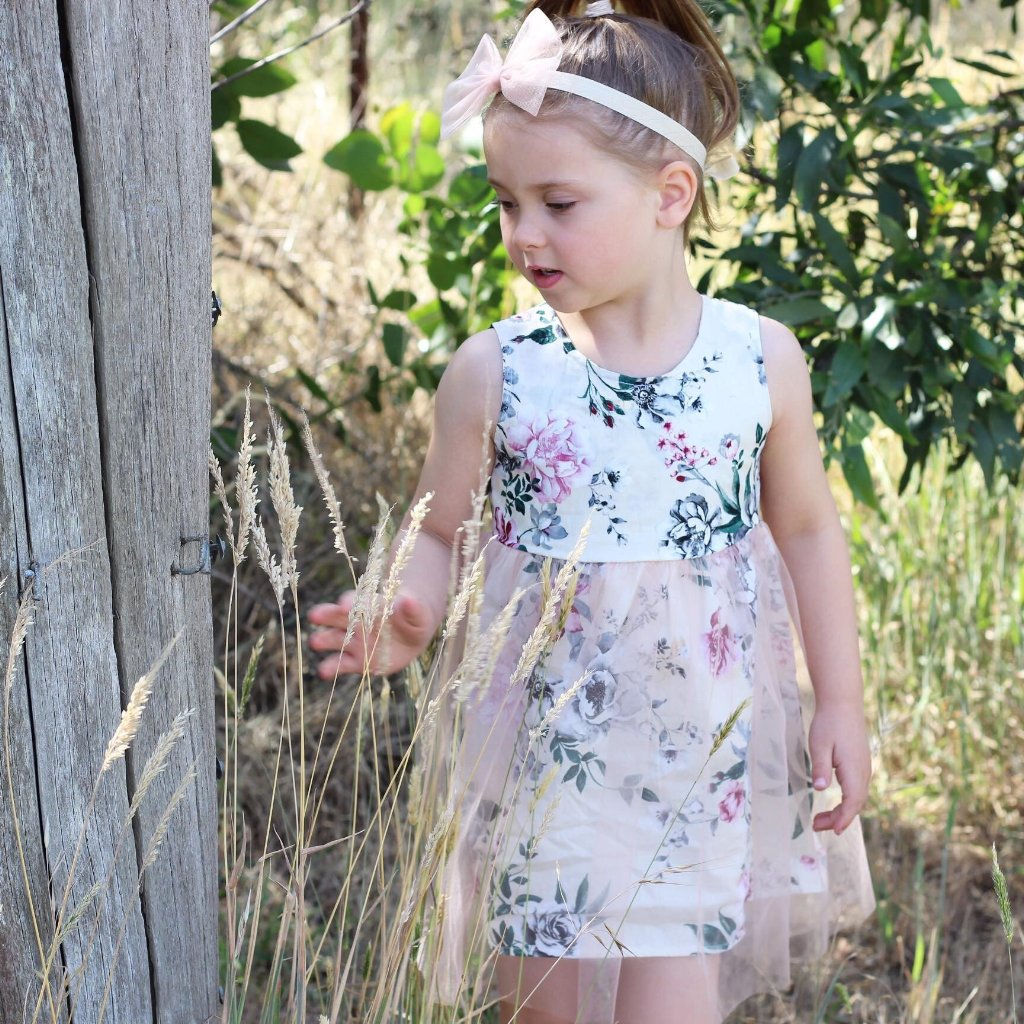 Kimberleigh  tulle dress - Toots Kids