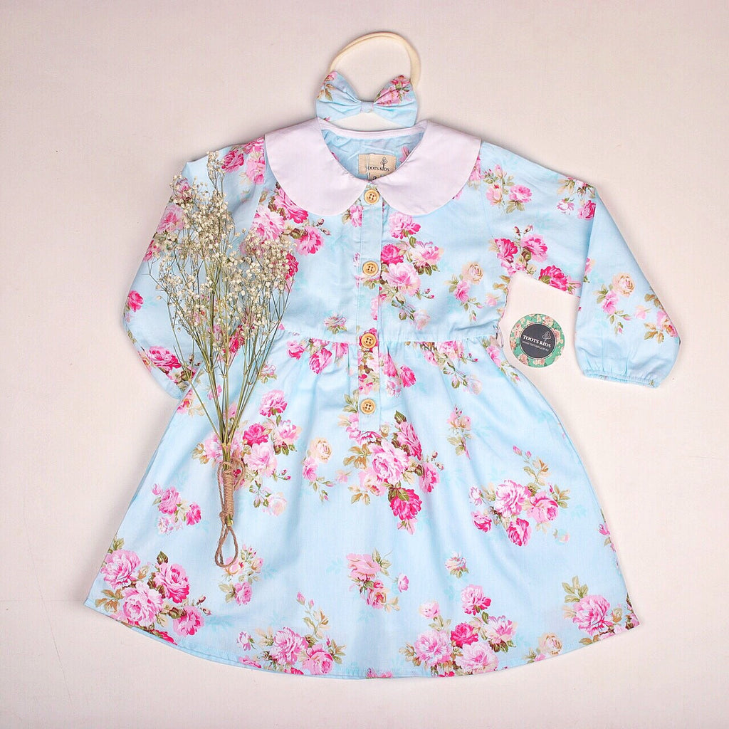 Laura winter dress - Toots Kids