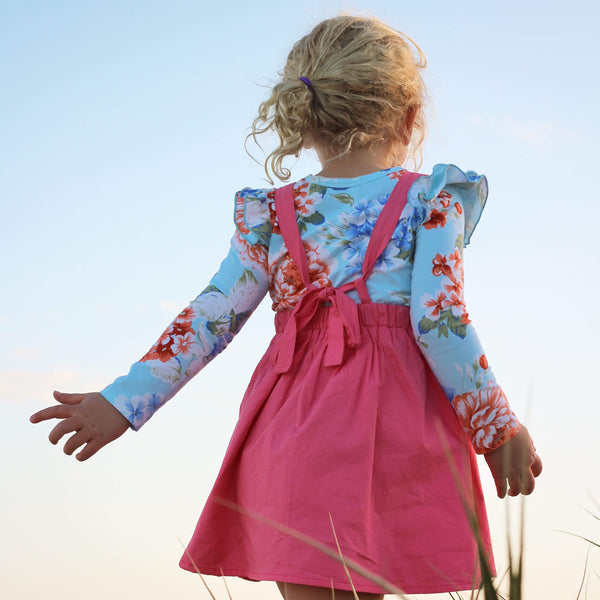 Pink Lemonade Pinny - Toots Kids