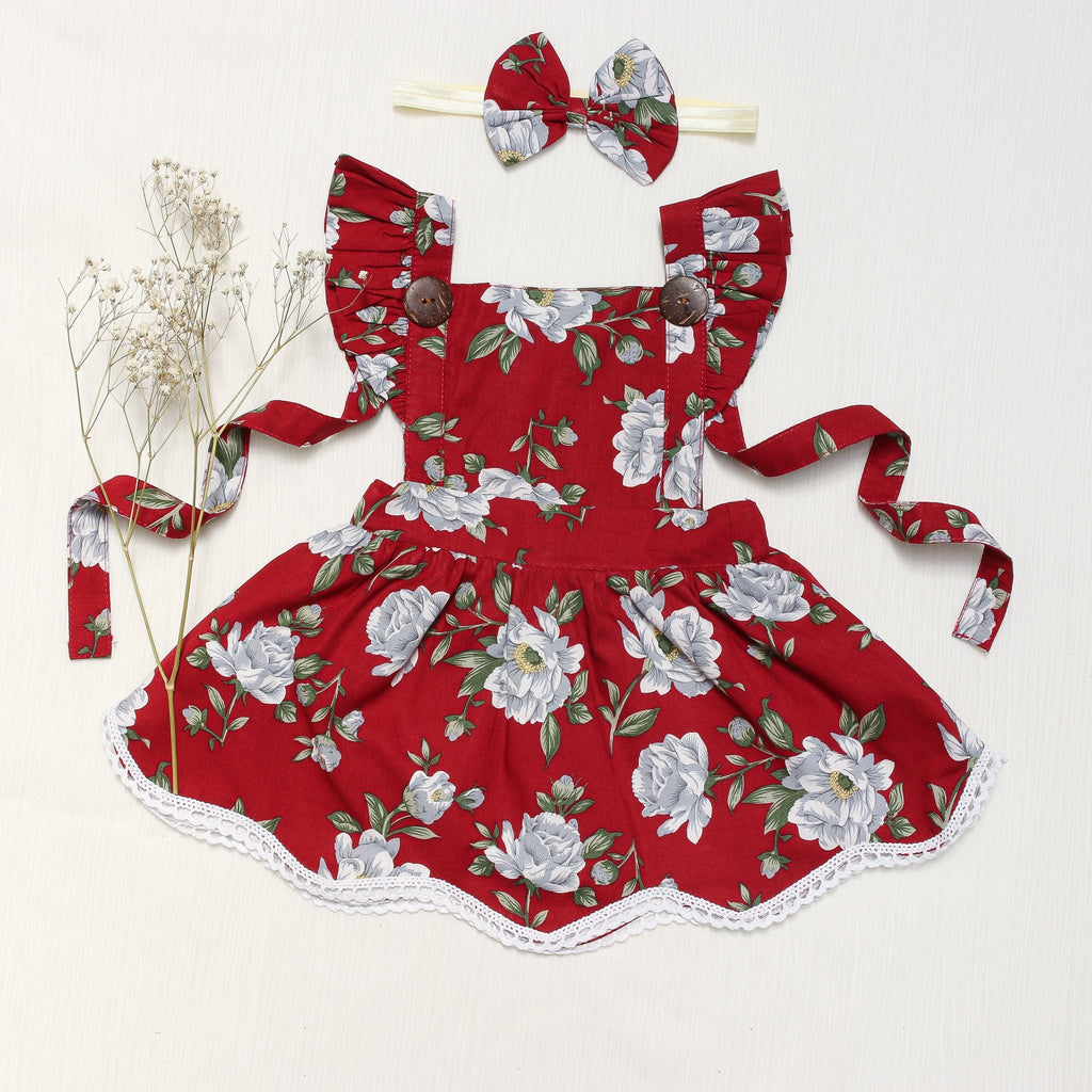 Christmas pinny dress