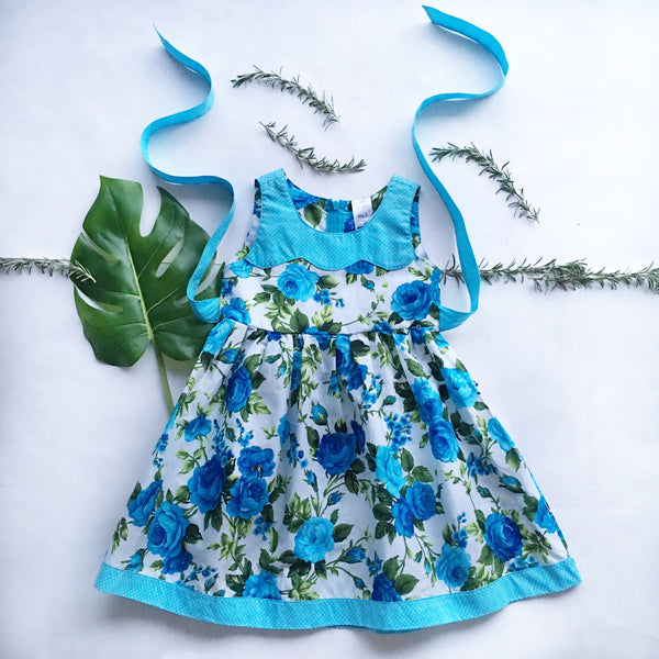 Elsa Dress - Toots Kids