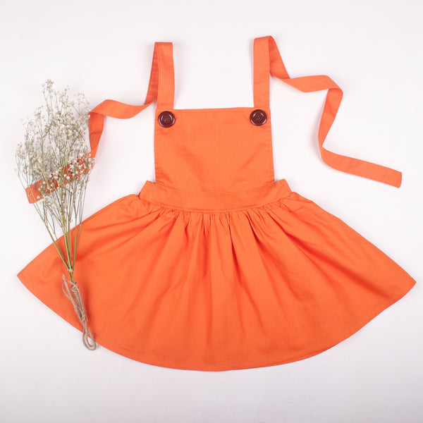 Orange Tiger Pinny - Toots Kids