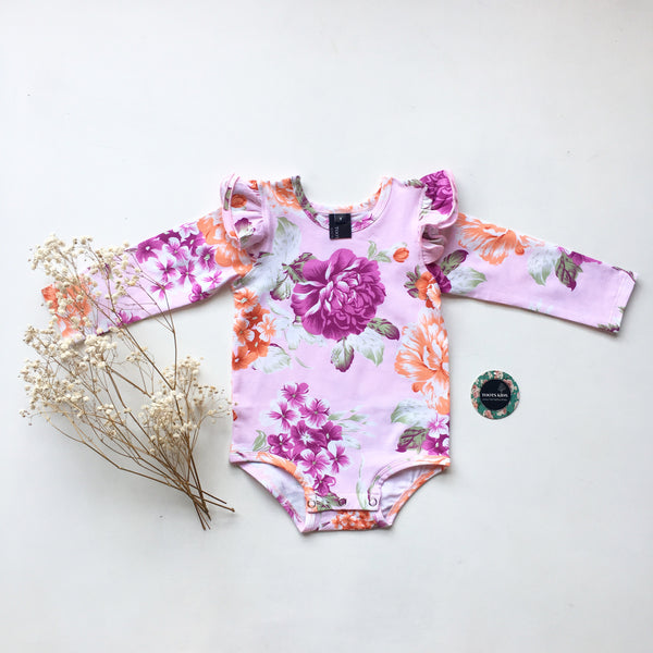 Aylah long sleeve flutter - Toots Kids